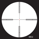 Nightforce Mildot 2 Reticle