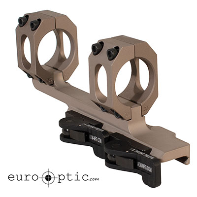 "ADm AD-Recon 30 MOA 1"" STD Lever FDE Cantilever Scope Mount"
