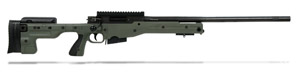 Accuracy International AT Rifle - Fixed Green Stock - 308 Win 24 inch non threaded bbl - small firing pin