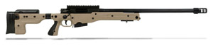 Accuracy International AT Rifle - Folding Pale Brown Stock - 308 Win 26 inch threaded bbl std brake - small firing pin