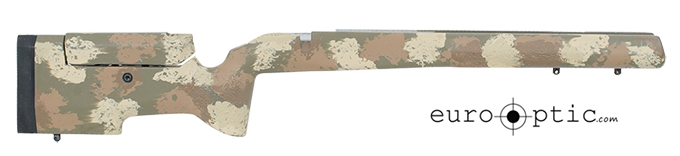 Manners T4A Tikka CTR drop-in stock - Woodland Manners-TCTR-T4A-WD