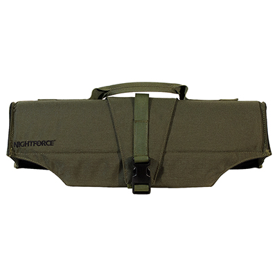 "Nightforce 19"" OD Green Padded Scope Cover  A441"