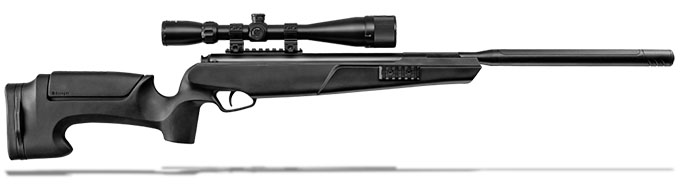 Stoeger ATAC Suppressor .177 cal 1200 FPS Black Synthetic Combo with 4-16 x 40mm Mil-Dot Reticle Scope MPN 30435