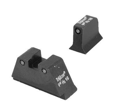 Trijicon Bright & Tough Night Sight Glock Suppressor Set GL204-C-600698