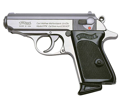 Walther PPK .380 ACP Stainless Pistol 4796001