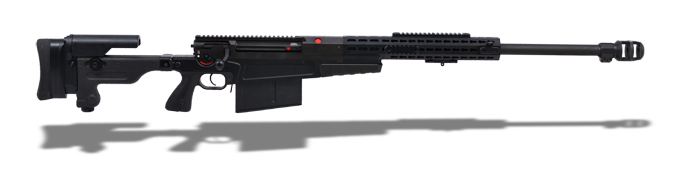 Accuracy International 6800B AX50 Black Rifle