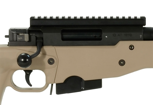 Accuracy International AT Rifle - Folding Pale Brown Stock - 308 Win 20  inch threaded bbl std brake - small firing pin -  R11010-CR|AT-308RFOPBQ20THSM