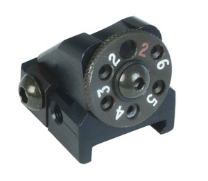 Accuracy International Rear Sight Assembly for P Rail  3309 3309