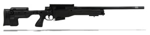 Accuracy International AT Rifle - Folding Black Stock - 308 Win 20 inch non threaded bbl - small firing pin - R11016-CR AT-308RFOBLQ20PL0M