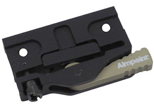 Aimpoint LRP (Lever Release) modular base only 12198