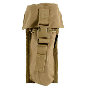 "Armageddon 8"" Suppressor Pouch Coyote Brown AG0224"