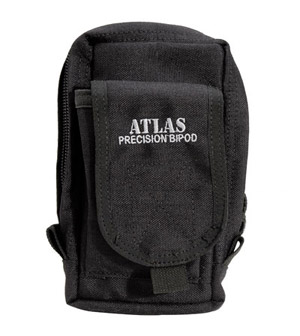 Atlas Bipod Pouch, for Bipod, BT22, BT23 and BT24 (Not Included) - Black BT30-Black