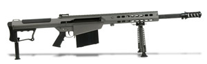 Barrett M107A1 Rifle System Grey Cerakote Receiver Black 20' Fluted Barrel 14552 14552