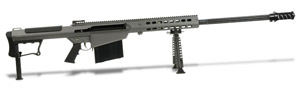 Barrett M107A1 Rifle System Grey Cerakote Receiver Black 29' Fluted Barrel 14553 14553