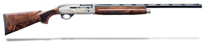 "Benelli Montefeltro Silver AA-Grade satin walnut, Nickel/blue, Etched game scenes 26"" MPN 10855 10855"