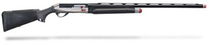 "Benelli Performance Shop Supersport Carbon Fiber finish, ComforTech®, Nickel/blue, Ported 30"" 12ga 10634"