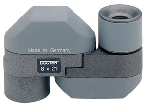 Docter Optic Compact 8x21 Monocular - Gray 50328