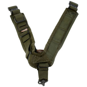 TAB Elite Biathlon Sling with Flush Cups - OD Green