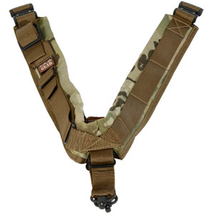 TAB Elite Biathlon Sling with Flush Cups - MultiCam