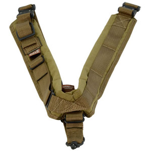 TAB Elite Biathlon Sling with Flush Cups - Coyote Tan