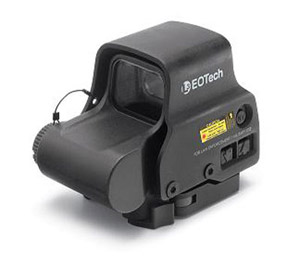 EOTech Holographic Sight, 65 MOA ring, (2) 1 MOA dots, QD lever EXPS3-2