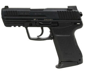 HK45 Compact Light LEM DAO without control lever 3x 8 rd mag 1 extra backstrap-night sights 745037LE-A5