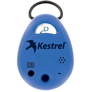 Kestrel DROP3 Blue Environment Data Logger 0730BLU