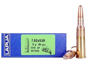 Lapua 185gr SP Mega Rifle Ammunition LU4317502