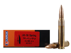 Lapua 123gr FMJ Rifle Ammunition LU4317577