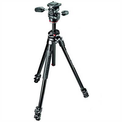 Manfrotto 290 Dual 3-way Head MK290DUA3-3WUS