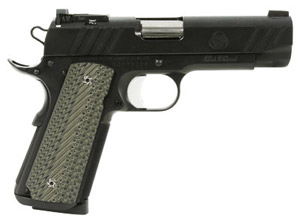Bob Marvel Custom 1911 .45 ACP 4.25? Bull barrel with new recoil system, stippled slide top,recessed NH-MarvelCustom