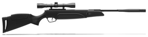 Stoeger A30 gas ram technology, black synthetic monte-carlo style stock and 4x32 scope 177 cal 1200 FPS MPN 30415