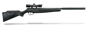 Stoeger X-20 S Black Synthetic Monte Carlo Stock and 4x32 Illuminated Red/Green Scope-.22 Cal./1000  30051