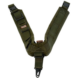 TAB Biathlon Sling with Hooks - OD Green