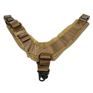 TAB Biathlon Sling with Hooks - Coyote Tan