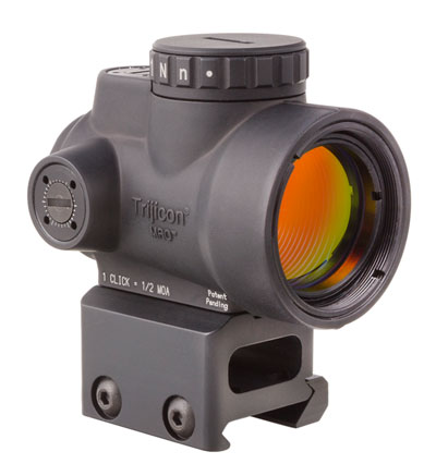 Trijicon 1x25 MRO 2.0 MOA Adj Red Dot AC32069 Mount MRO-C-2200006
