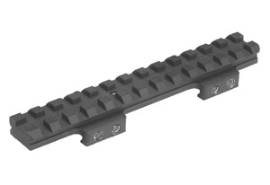 Badger Ordnance Flat-top Riser Rail 22 MOA P/N 249-25